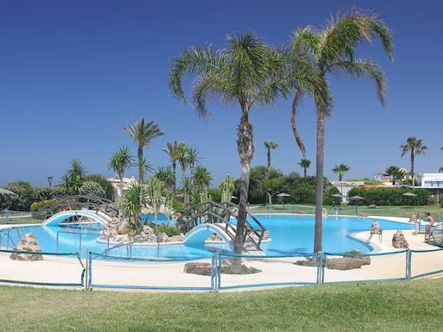 ZAHARA DE LOS ATUNES URB.ATLANTERRA PLAYA - Tarifa - Kondominium