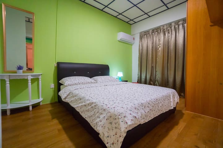 1 Bedroom at Homecation Kuching Central Park Area