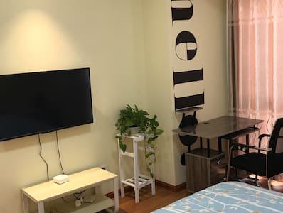 万达广场 50平欧式单身公寓《猪猪小蜗》