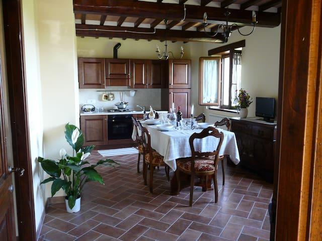 Casa Umbra Vocabolo Paiccio-Umbria and Tuscany - Città della Pieve - Appartement