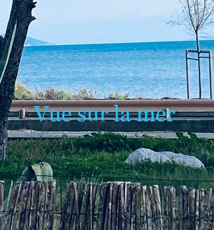 Hyeres -l Ayguade Villa 6 pers. à 20 m de la mer
