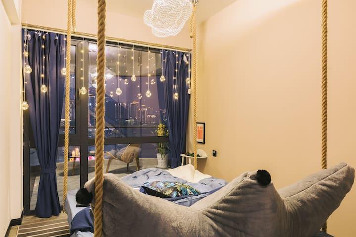 卧室4,星空夜景房
