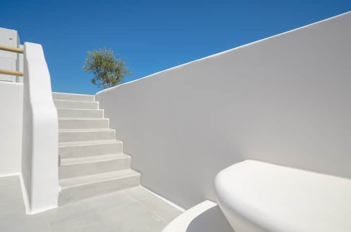 Seaside Naxos • 2 Villas • 8 BDR • Pool • Sleeps20