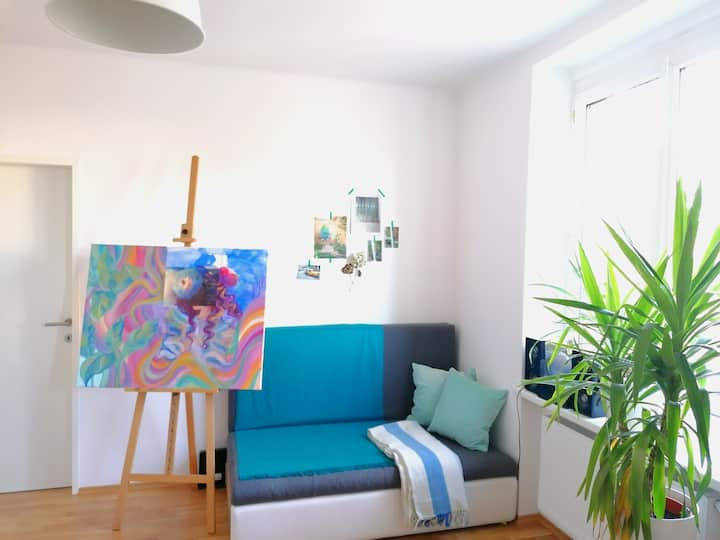beautiful artist apartment