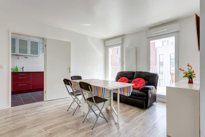 Modern 4-room flat close to Paris - L'Haÿ-les-Roses - Apartment
