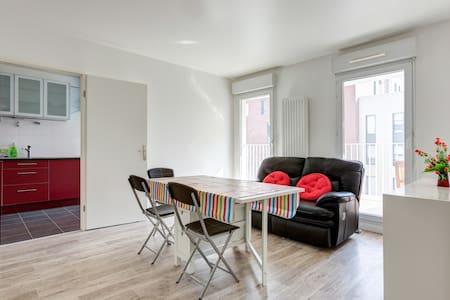 Modern 4-room flat close to Paris - L'Haÿ-les-Roses - Lejlighed
