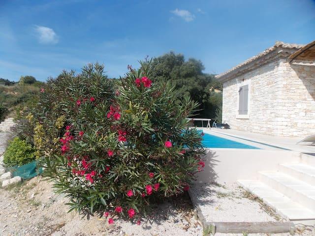 l olivier piscine chauffee et privee - Saint-Nazaire - Rumah percutian