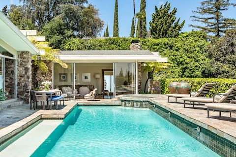 Hollywood Hills Mid-Century Modern
