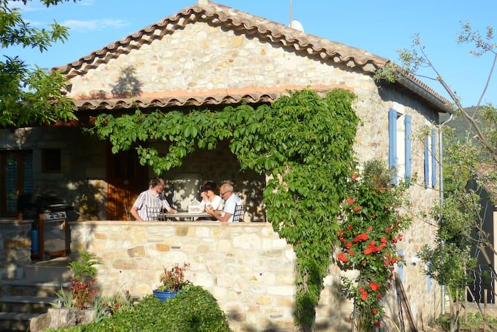 La Clède de Monéry, gîte de charme en Cévennes - Saint-Jean-du-Gard - Casa