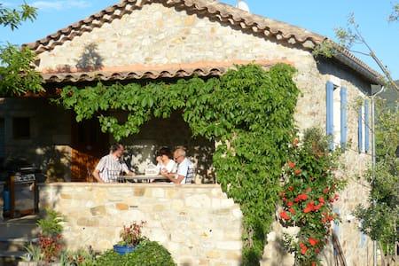 La Clède de Monéry, gîte de charme en Cévennes - Saint-Jean-du-Gard - บ้าน