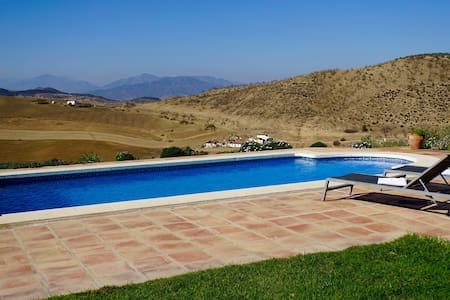 Charming cottage with amazing views - Villanueva de la Concepción - Srub