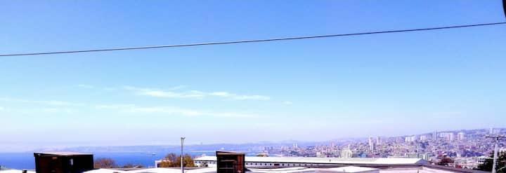 Casa vista a la bahia Valparaiso