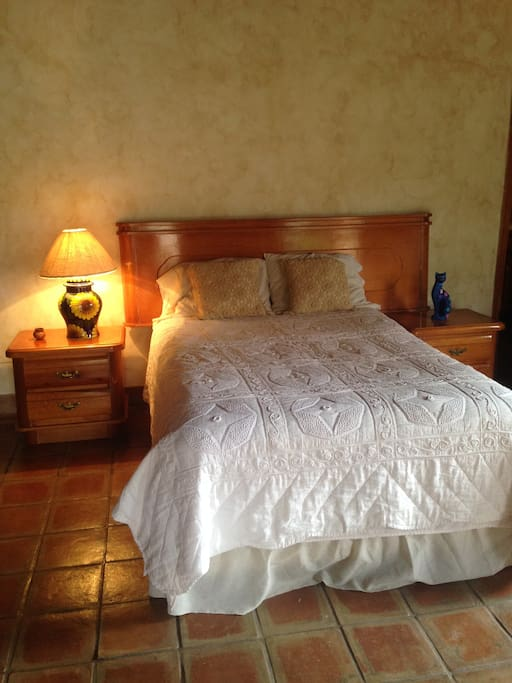Cama doble / Double bed
