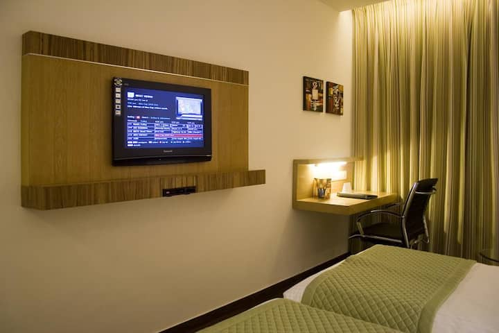 Standard room for a single guest near Nehru Place