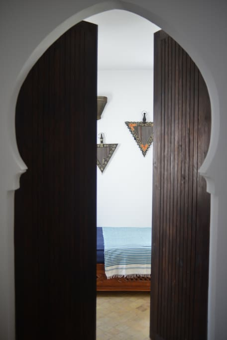 Entrance to the triple room