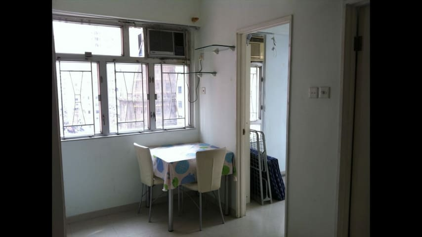 Two bedrooms apartment across HKU MTR station