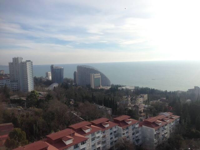 Best Sochi Seaview 70m2  Apartment! - Sochi - Flat