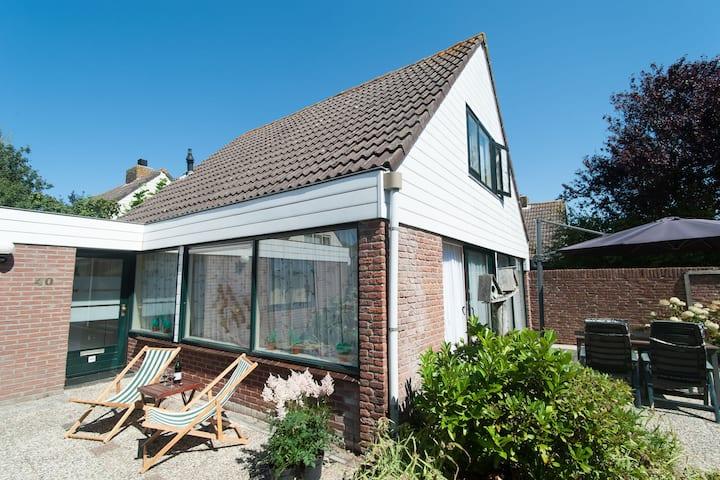 Casa Vacacional Vintage en el sur de Holanda en el Bosque