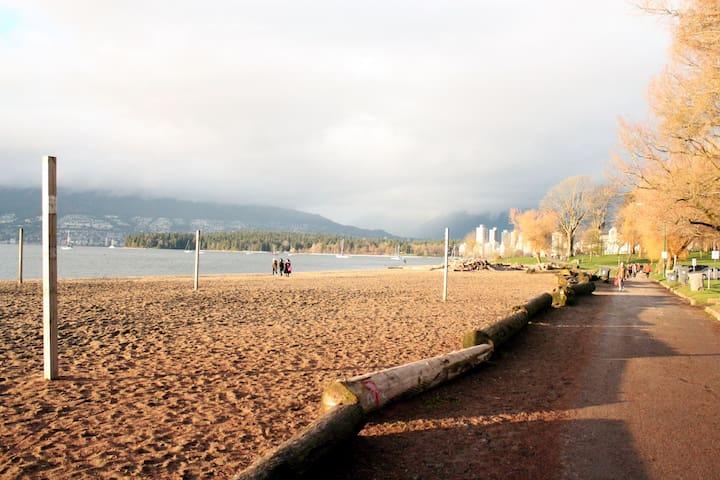 WATERFRONT KITSILANO BEACH HOUSE! - Vancouver - Haus
