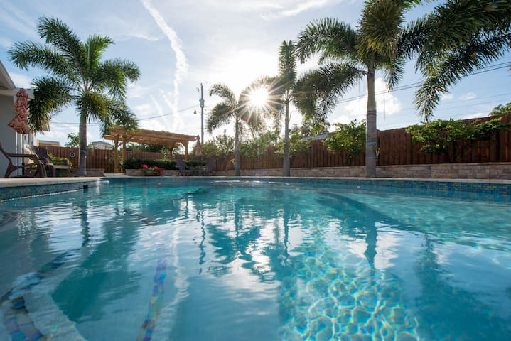 Recently renovated South Florida home with a pool!