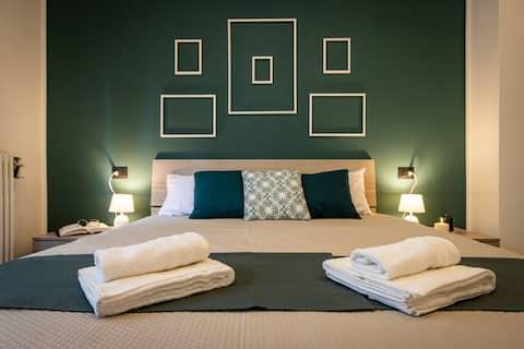 Green Pearl ✰✰✰✰✰ Appartamento a 100 mt dal lago