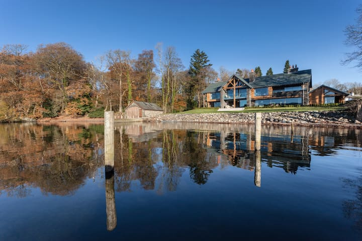 Luxury, designer home right on Lake Windermere - Bowness-on-Windermere - Dům