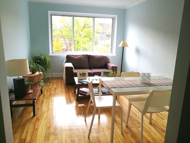 LOVELY PRIVATE ROOM IN NDG, NEAR TO METRO STATION