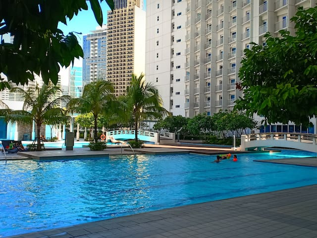Affordable Jazzy Pool Residence