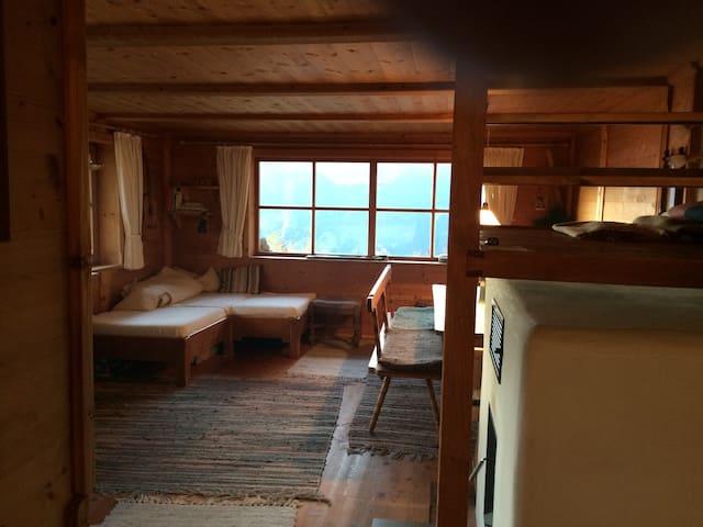 Komfort. Berghütte 1650m; im Skigebiet; Zillertal - Hainzenberg - 一軒家