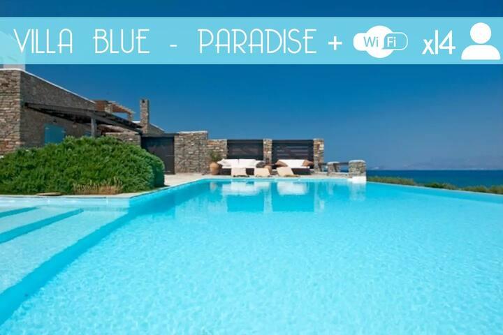 Villa pieds dans l'eau, prestations luxueuses - Paros - Villa