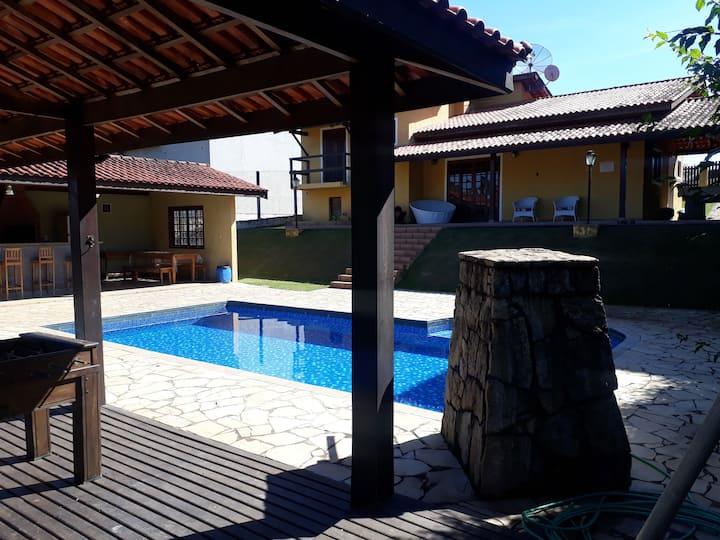 casa de campo em Atibaia  condomínio e wifi
