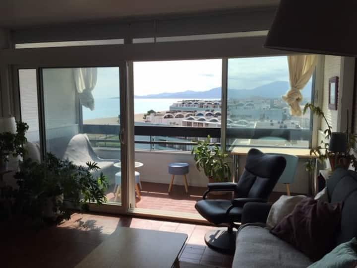 Appartement avec magnifique vue sur la mer