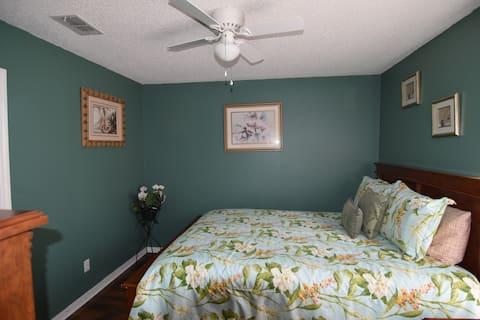 Beautiful green  bedroom home near Disney.