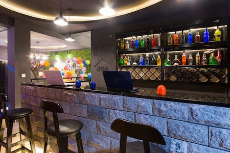 长沙唯一自带酒吧灯光效果的日租聚会别墅 - Changsha Shi