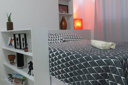 Flat em Boa Viagem ao lado Shopping e Vista  p Mar - Recife - Aparthotel