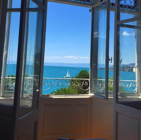 Nice Bedroom on the main street ! - Montreux - Apartamento
