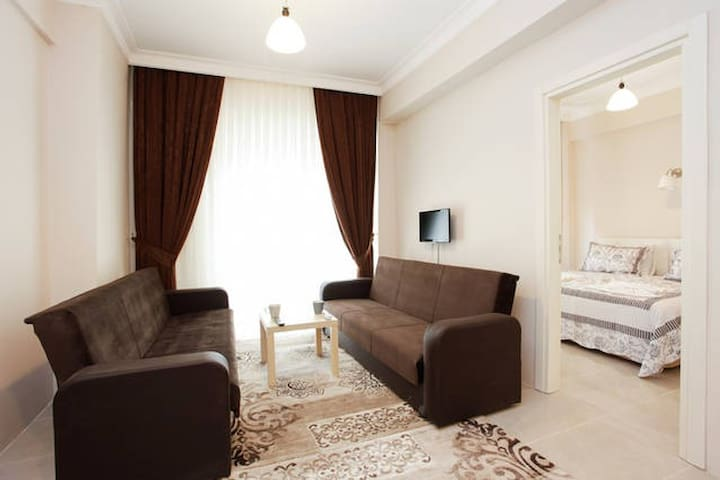 OLD CİTY AREA, 5 GUEST, COZY FLAT WİTH JACUZZİ