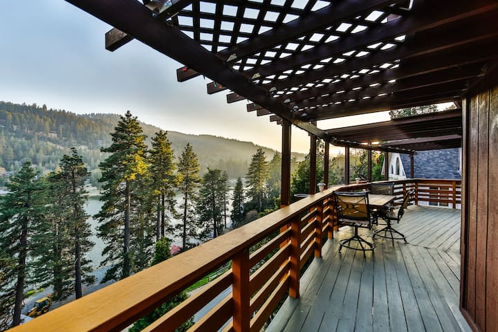 BEST VIEW Lakefront Cabin- Lake Gregory/Arrowhead