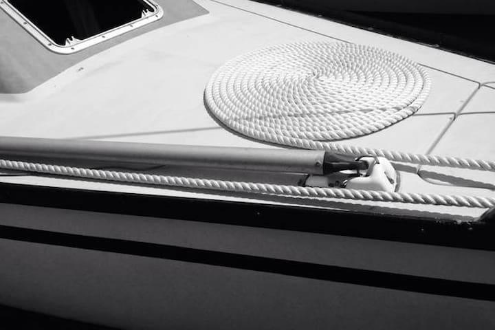 Voilier de 8m - La Vicomté-sur-Rance - Båd