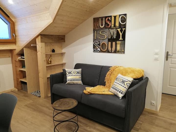 "Appartement ""Au cosy d'Elana"" à la Féclaz"