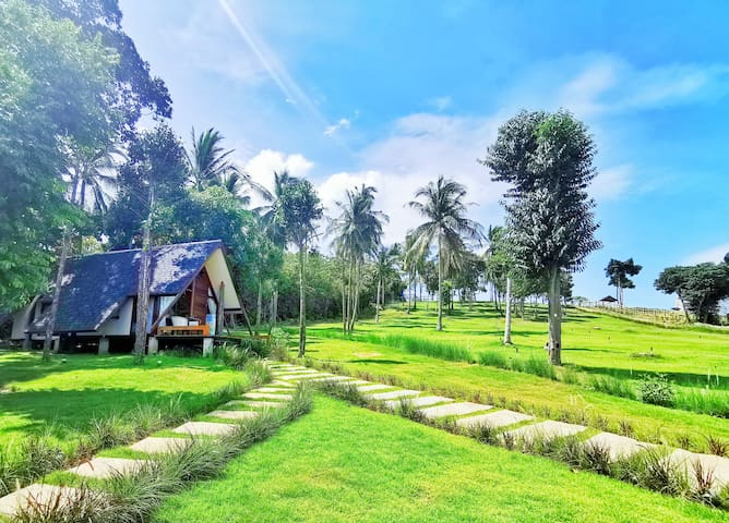 ❤ OPENING OFFER! ROMANTIC HIDEOUT Balinese Eco House  IN PRIVATE DOMAIN ❤