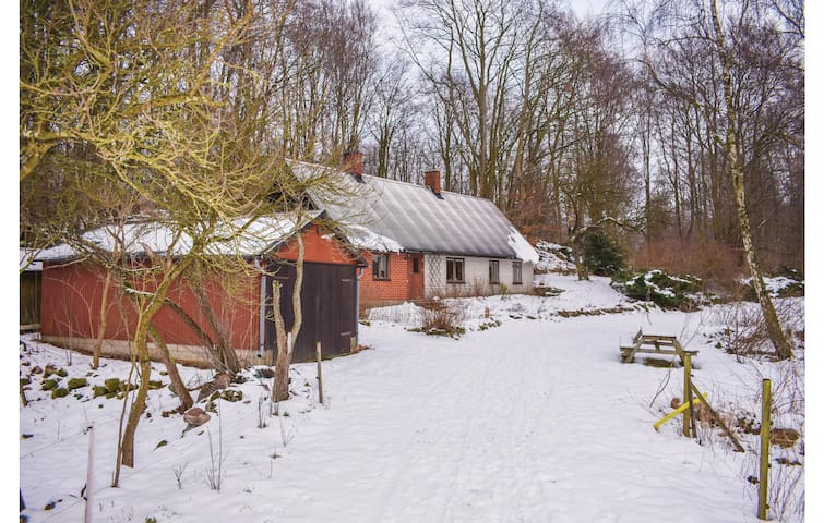 Holiday cottage with 1 bedroom on 65m² in Vollsjö