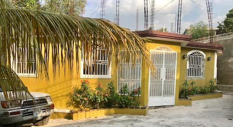 Large gated house in Port-au-Prince Haiti