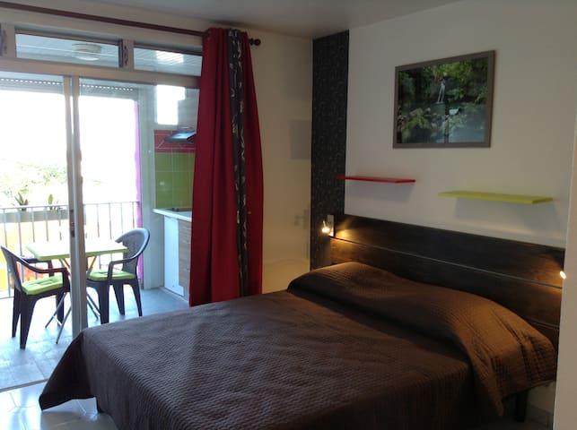 Studio meublé et climatisé - Saint-Francois - Condominio
