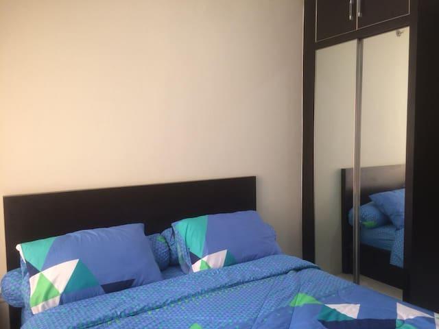 disewakan unit apartemen studio pool view lt8