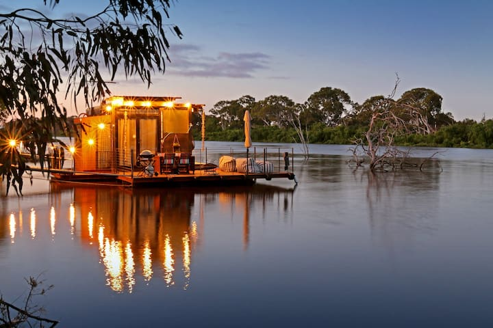 """The Cube"" Murray River - for 2"