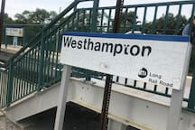The Westhampton LIRR is just a few minutes away.