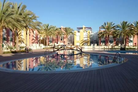 Apto. solarium-jacuzzi Vera playa - Wohnung
