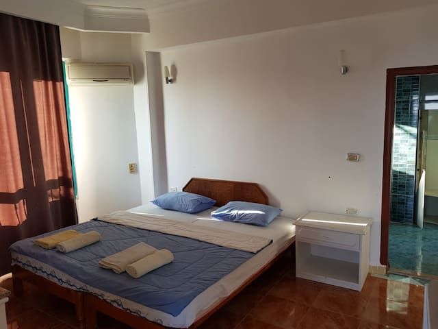 Second bedroom , bathroom included