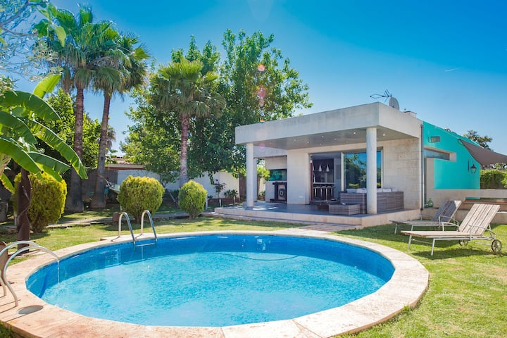 ZOE - Villa with private pool in Marratxi. Free WiFi